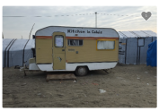 Kitchen in Calais by Sofinee Harun